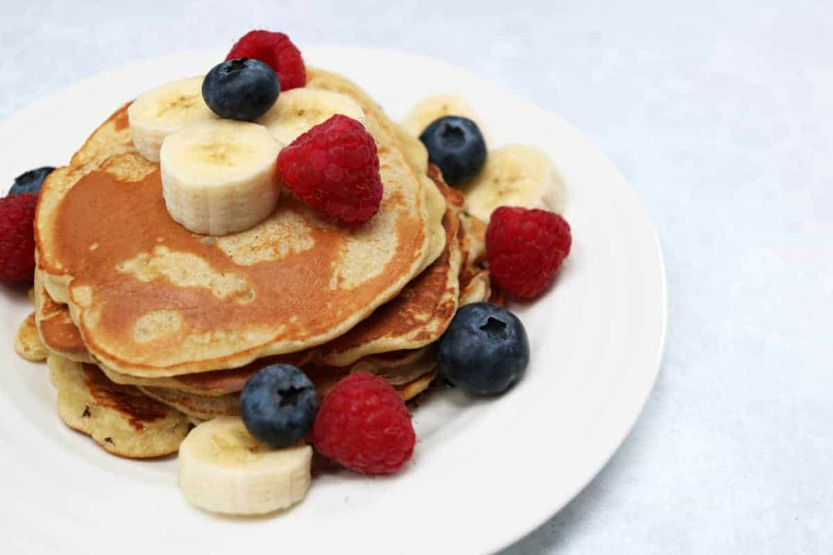 Healthy Banana Pancakes Recipe