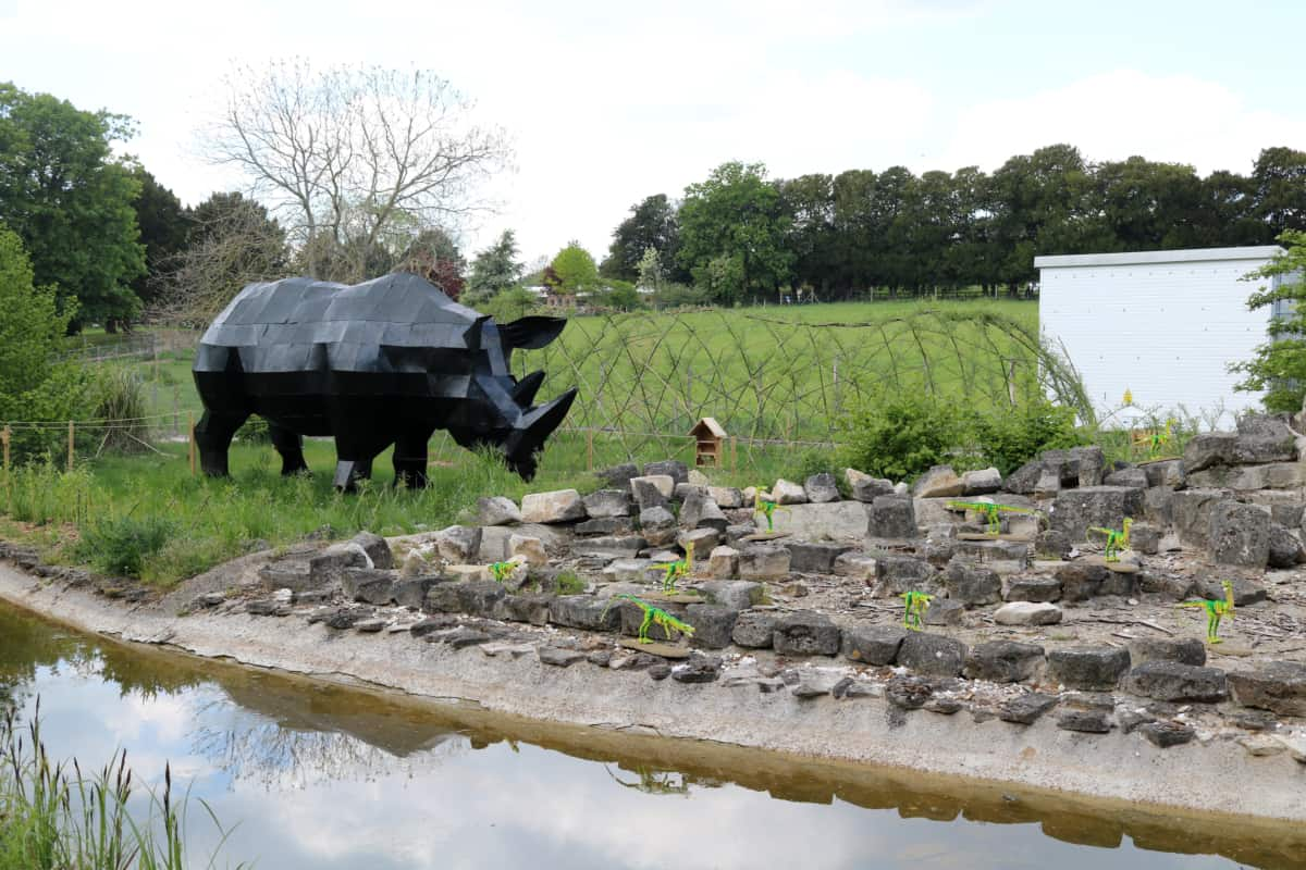 Brickosaurs at Marwell Zoo, Hampshire
