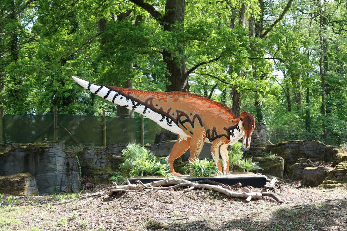 Brickosaurs at Marwell Zoo, Hampshire