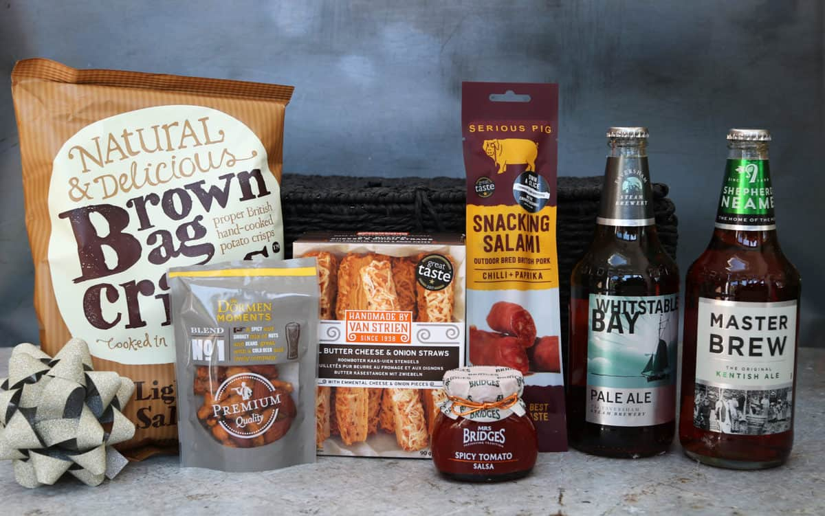 Father's Day Gift Guide Kentish Ales Basket