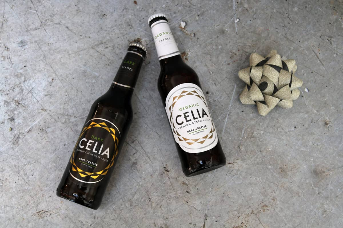 Father's Day Gift Guide Celia Organic Gluten Free Lager Beer