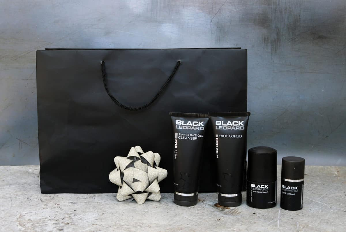 Father's Day Gift Guide Black Leopard Skincare