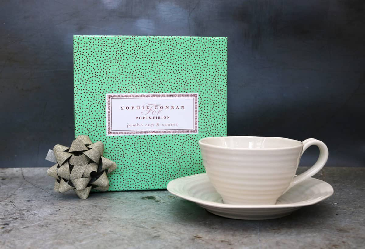 Father's Day Gift Guide Portmeirion Jumbo Cup and Saucer