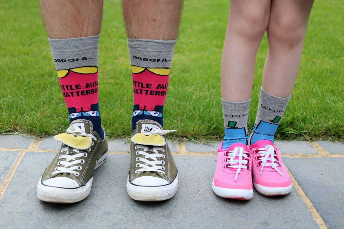 Matching Family Socks: A Great Father's Day Gift | AD