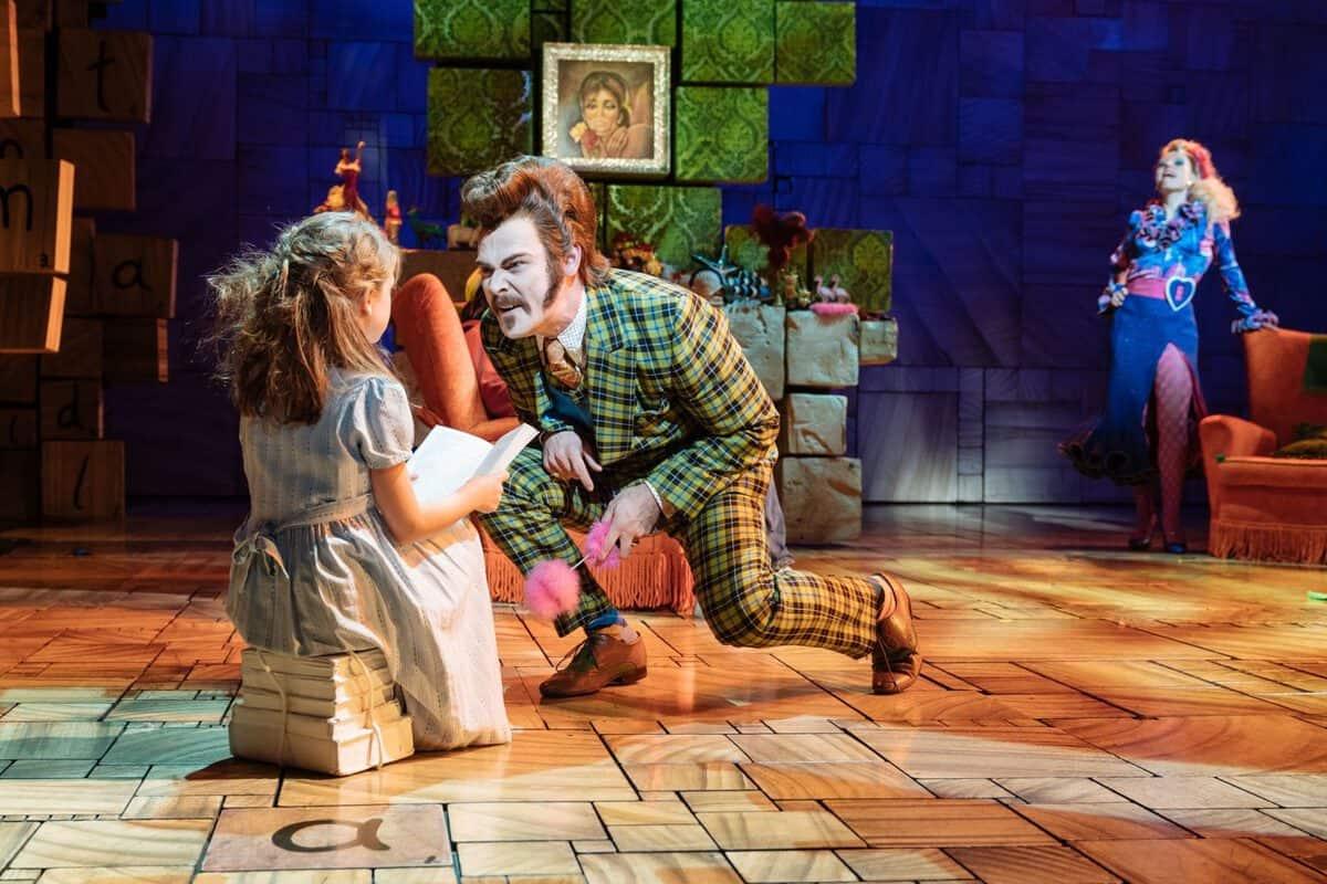 Matilda the Musical at Cambridge Theatre and Marcus Wareing's Tredwells Restaurant