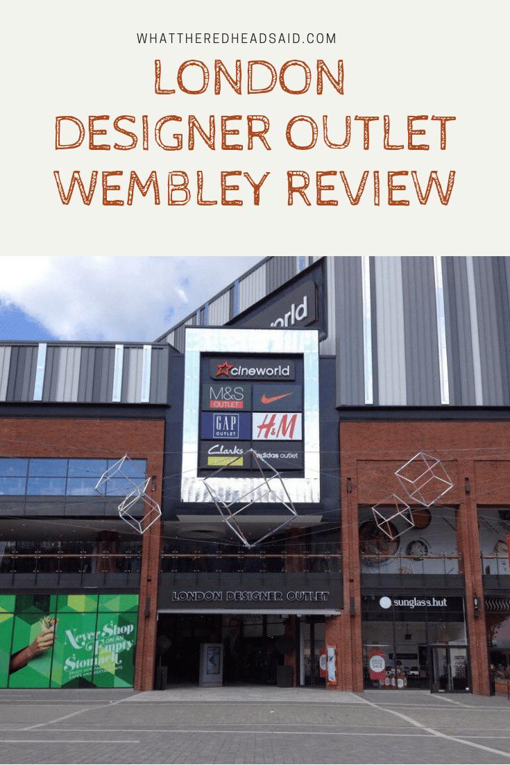 London Designer Outlet Review