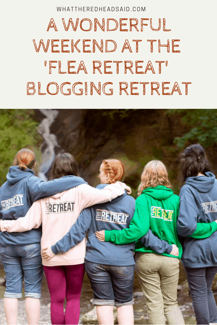 A Wonderful Weekend at the Flea Retreat #FleaRetreat