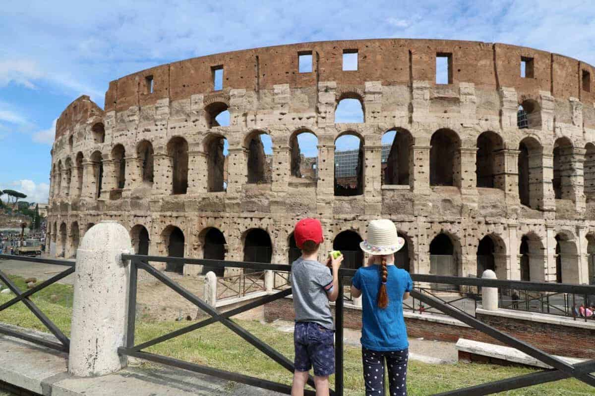 Visiting the Colosseum, Roman Forum and Palatine Hill