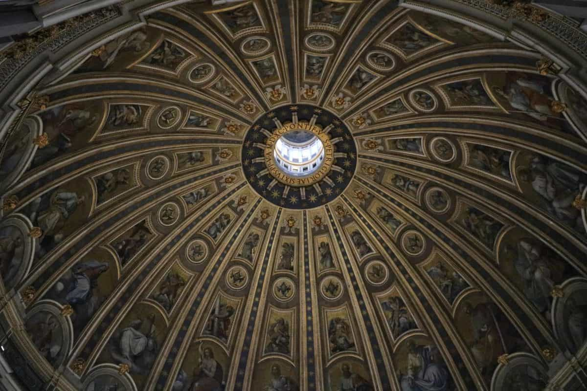 Climbing St Peter's Dome and Visiting the Basilica with Children