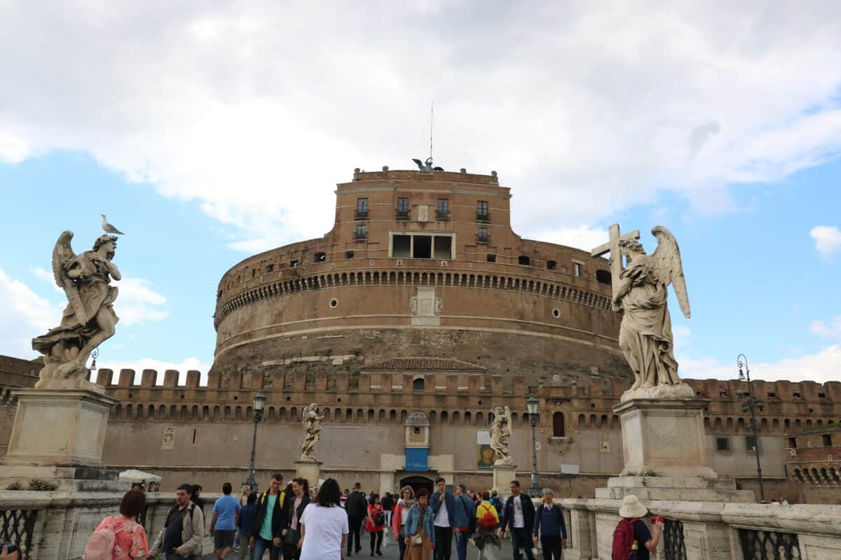 A Family Visit to Castel Sant'Angelo Rome
