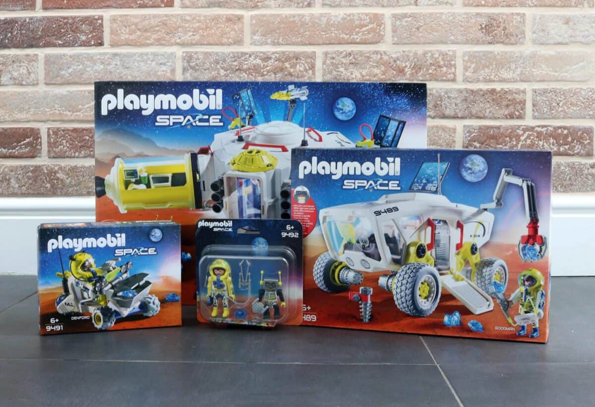 A Journey into Space with the Mission to Mars Playmobil Range