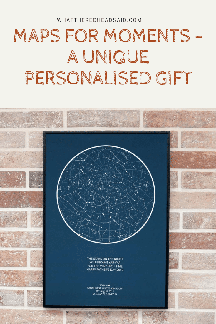 Maps for Moments - A Personalised Gift For Any Occasion | AD