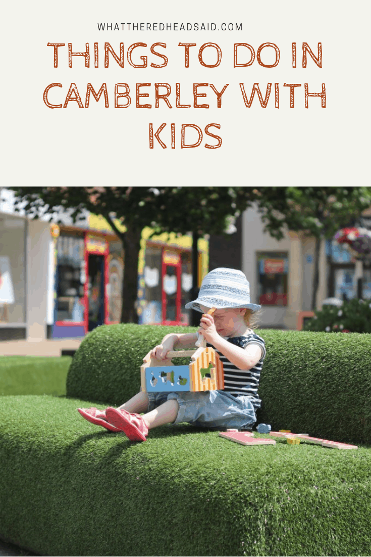 Things To Do in Camberley with Kids