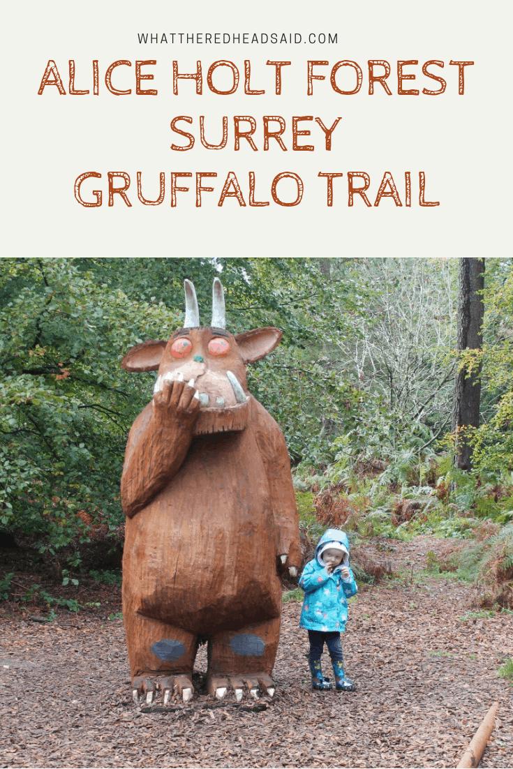 Alice Holt Forest Surrey Gruffalo Trail