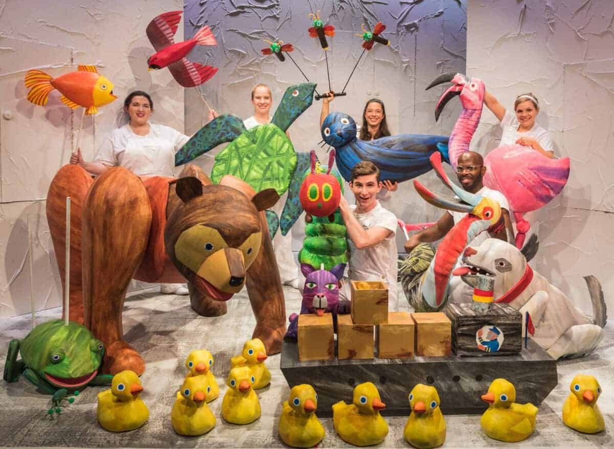 The Very Hungry Caterpillar Show at Camberley Theatre Review