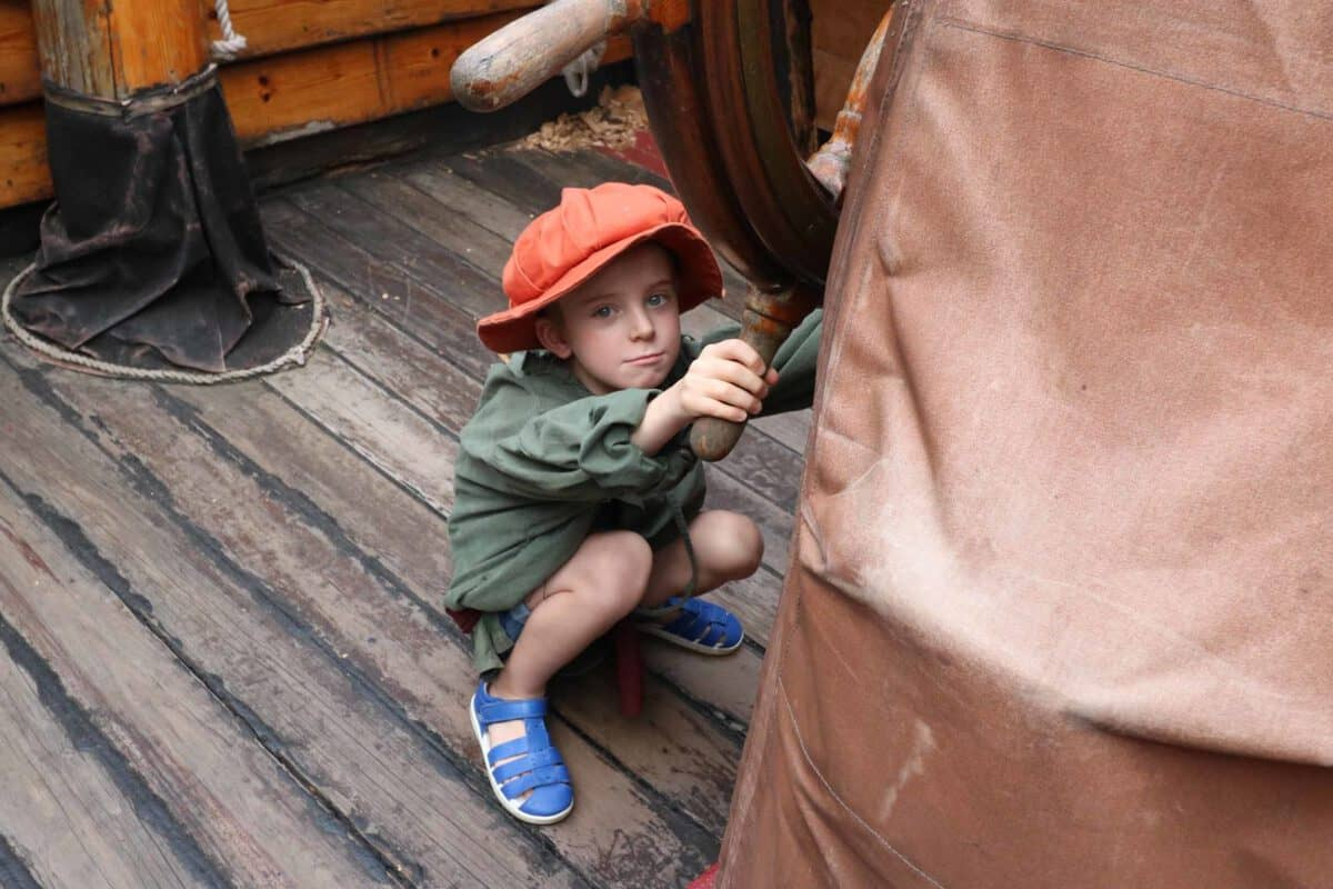 A Night Voyage on the Golden Hinde