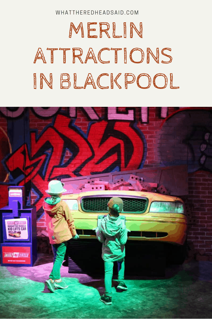 Visiting the Merlin Attractions in Blackpool
