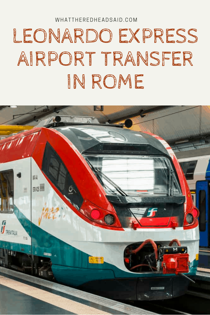 Leonardo Express - Airport Transfer in Rome