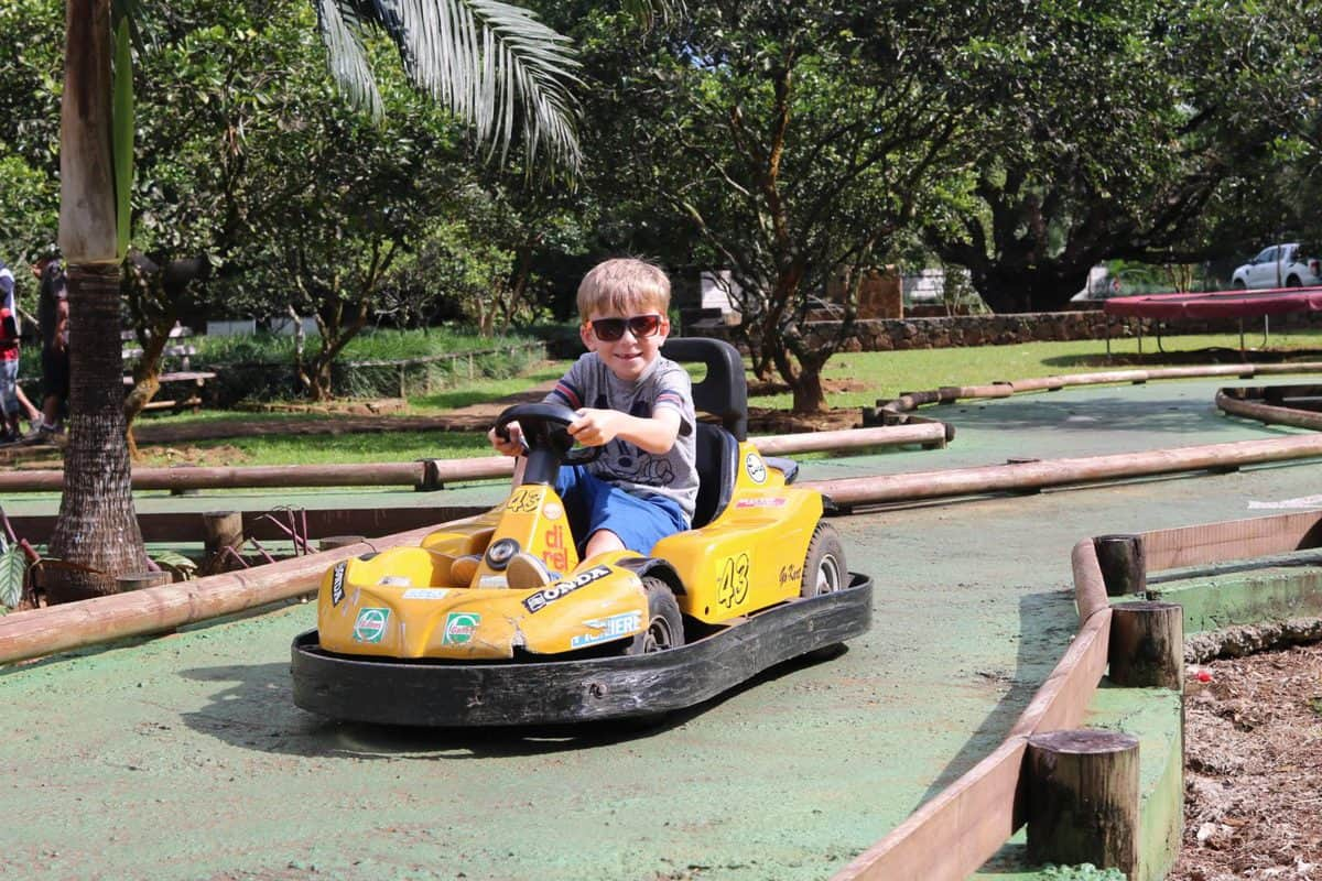 A Morning at TerrOcean Le Domaine de l'Etoile Mauritius - Go Kart