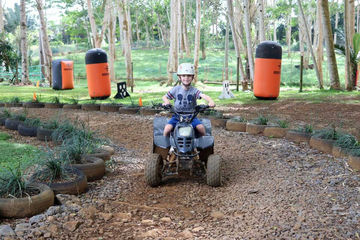 A Morning at TerrOcean Le Domaine de l'Etoile Mauritius - Quad Bike