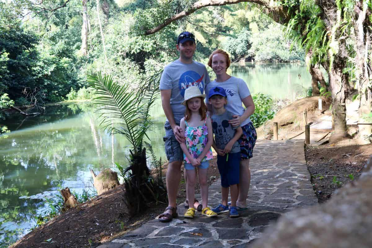 A Morning at TerrOcean Le Domaine de l'Etoile Mauritius - Family Photo