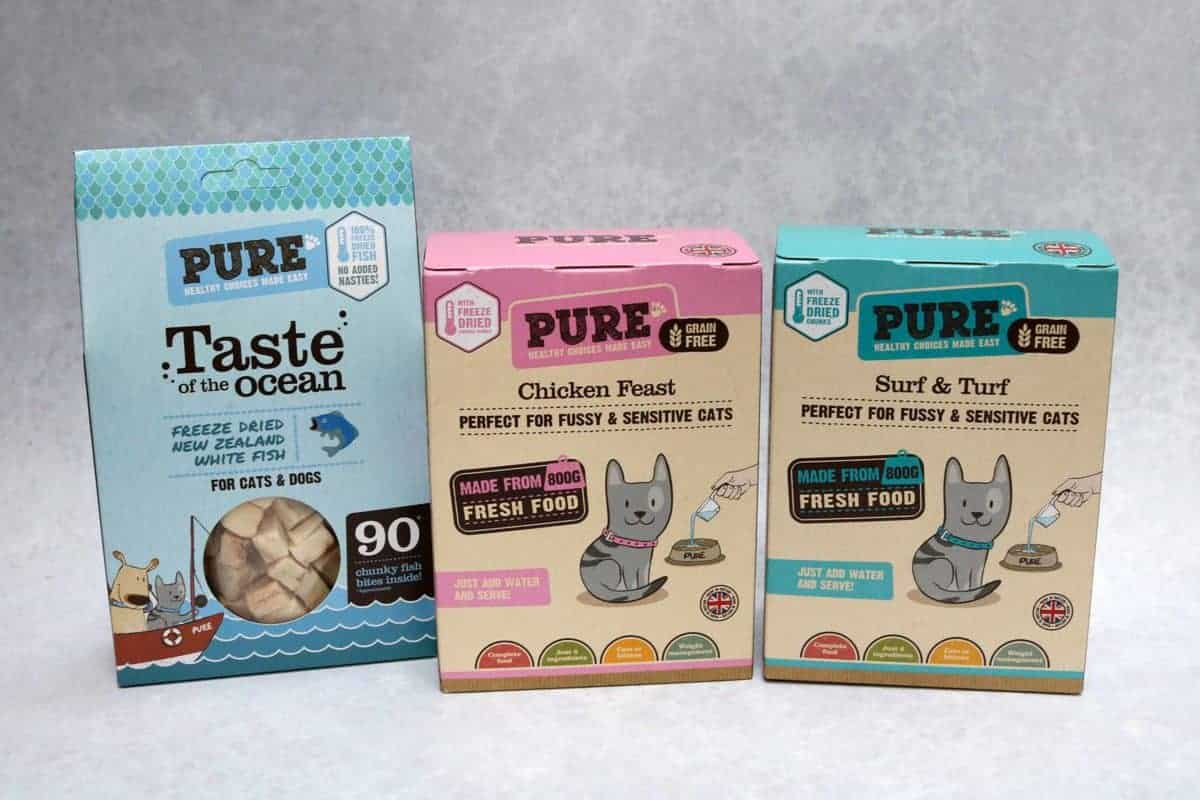 Pure Pet Food Review and Giveaway | AD