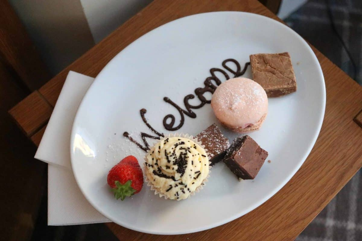 A Family Weekend at Knoll House Hotel Dorset - Welcome treats