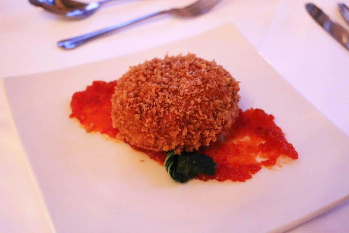 A Family Weekend at Knoll House Hotel Dorset - Fish Cake