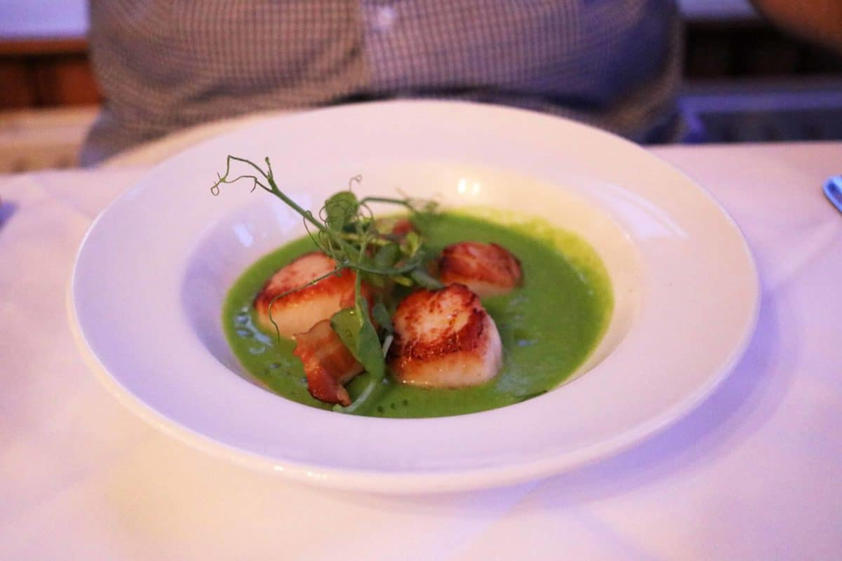 A Family Weekend at Knoll House Hotel Dorset - Scallops
