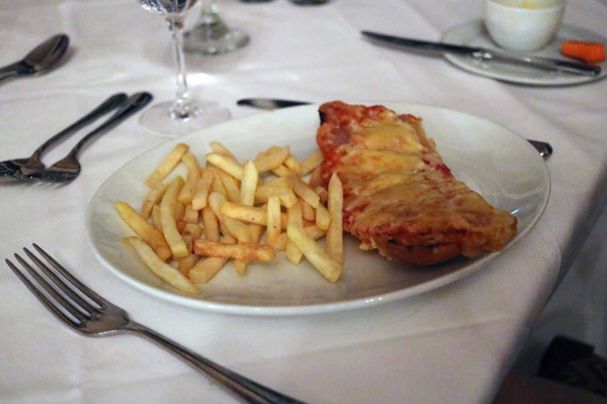 A Family Weekend at Knoll House Hotel Dorset - Children's Pizza and Chips