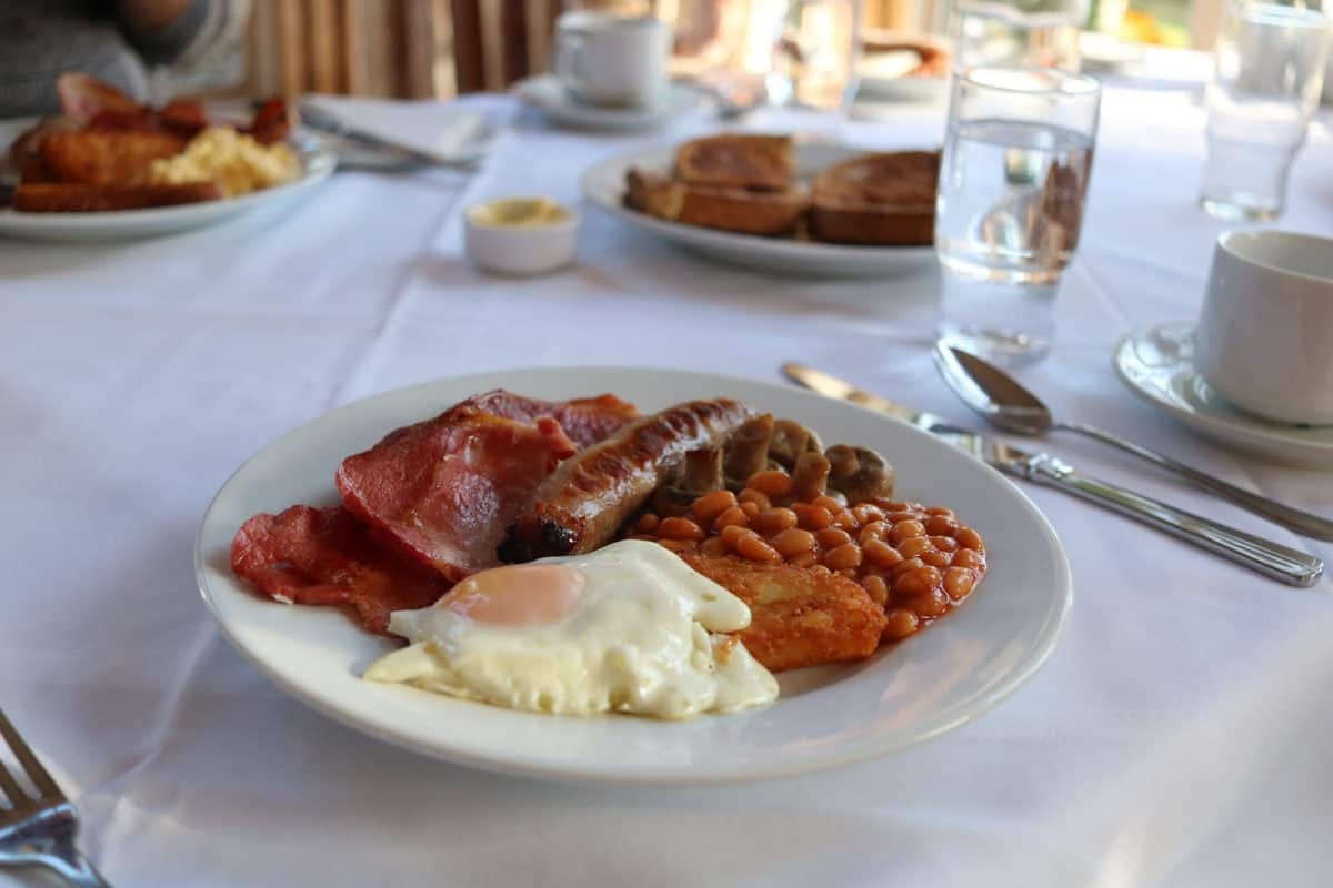 A Family Weekend at Knoll House Hotel Dorset - Breakfast