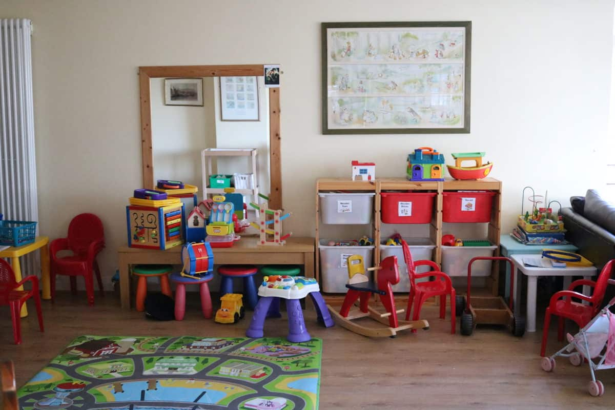 A Family Weekend at Knoll House Hotel Dorset - Playroom