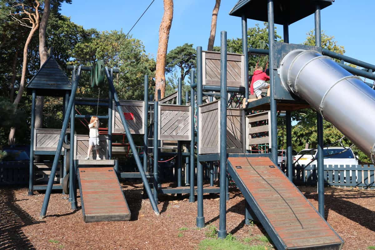 A Family Weekend at Knoll House Hotel Dorset - Playground