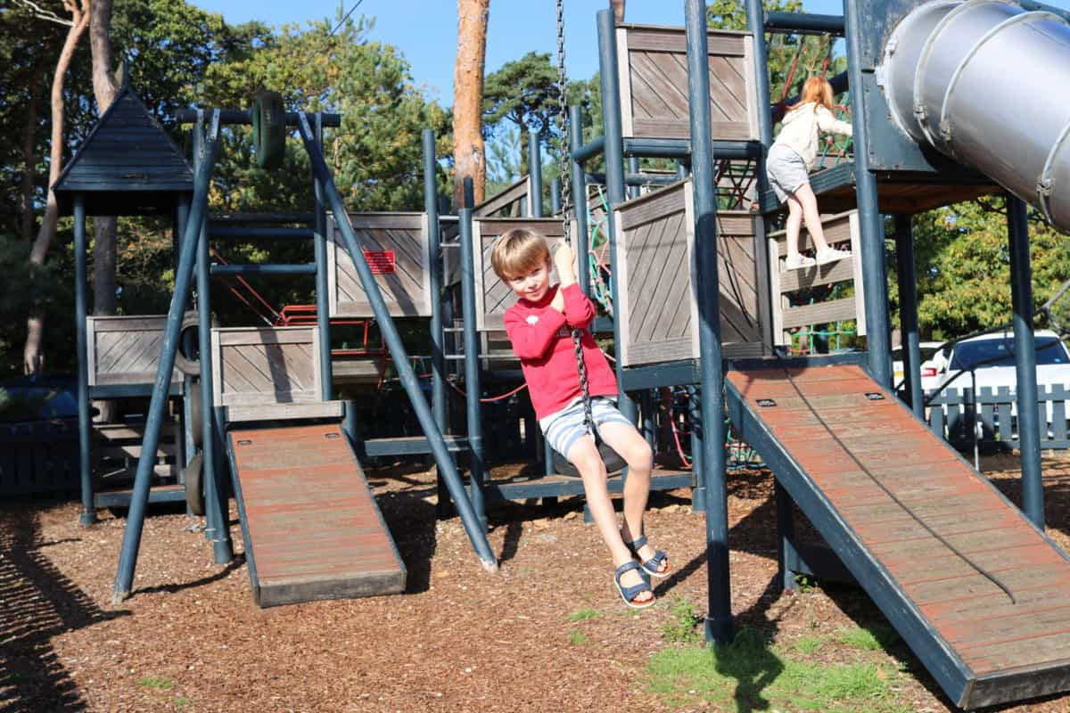 A Family Weekend at Knoll House Hotel Dorset - Zip Line