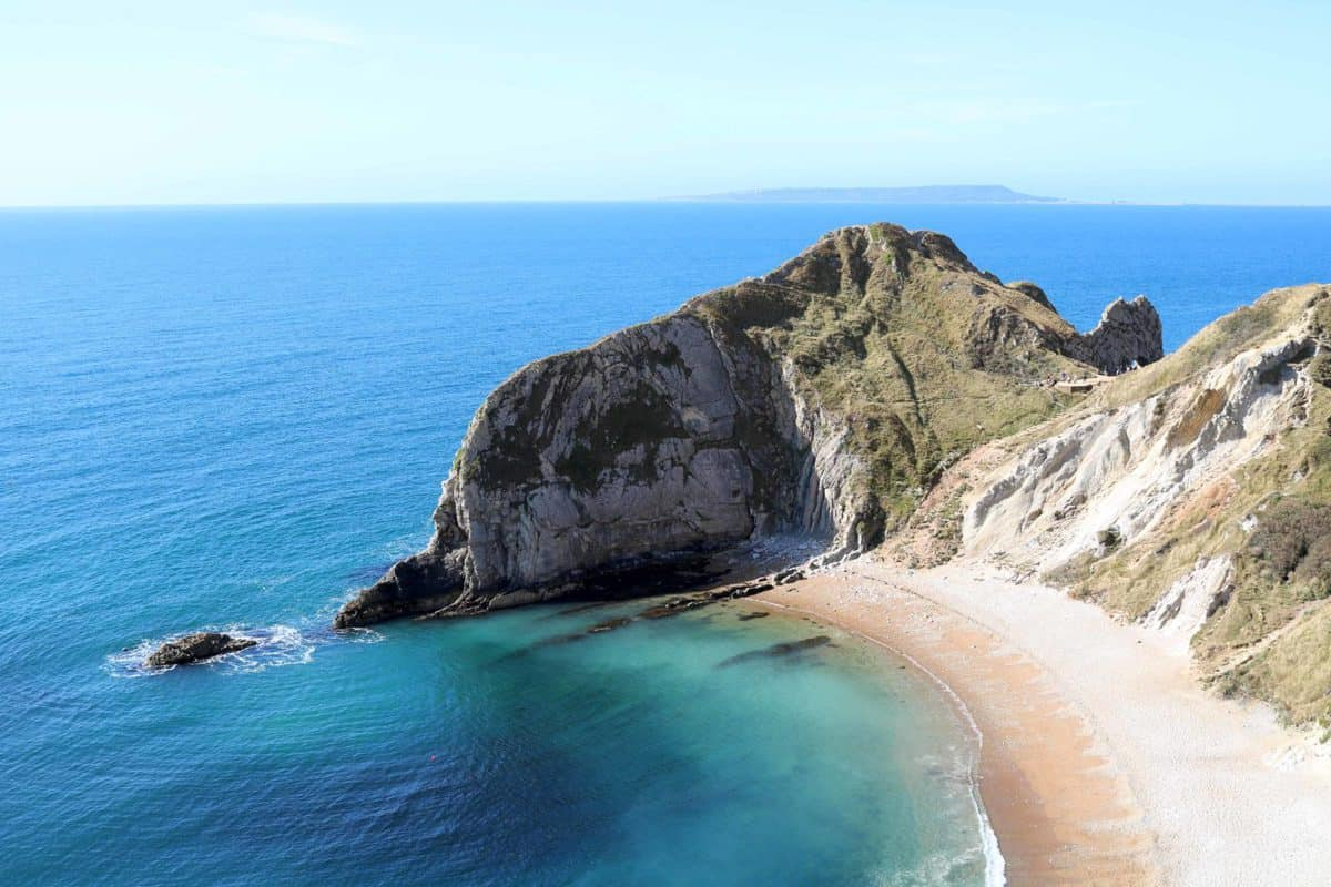 Visiting Durdle Door - Man of War Bay