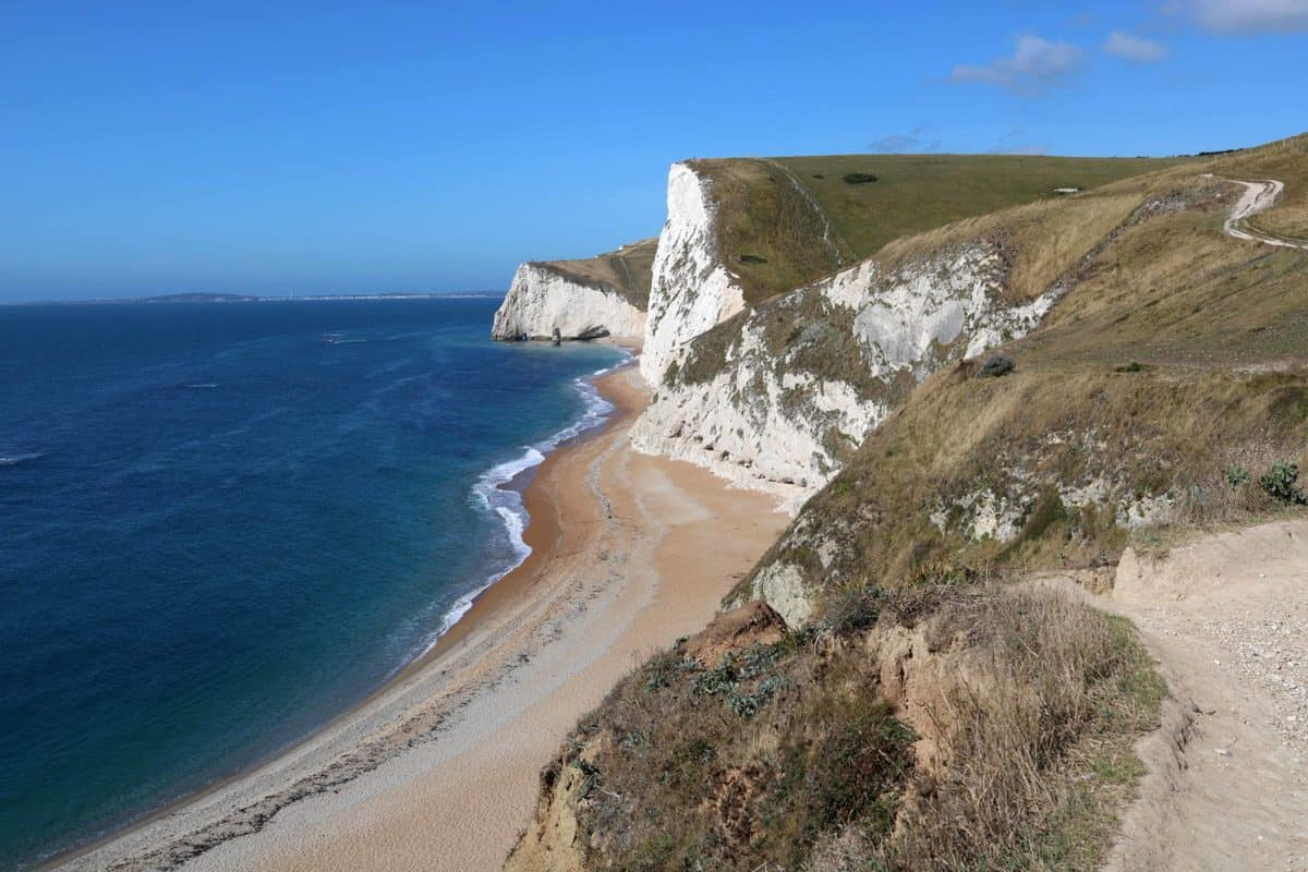 Visiting Durdle Door - Coastline