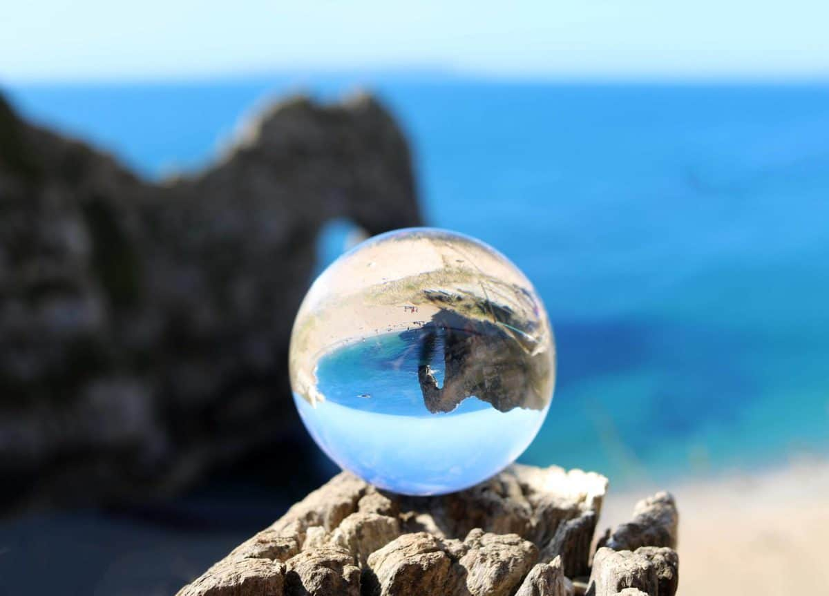 Visiting Durdle Door - Lensball