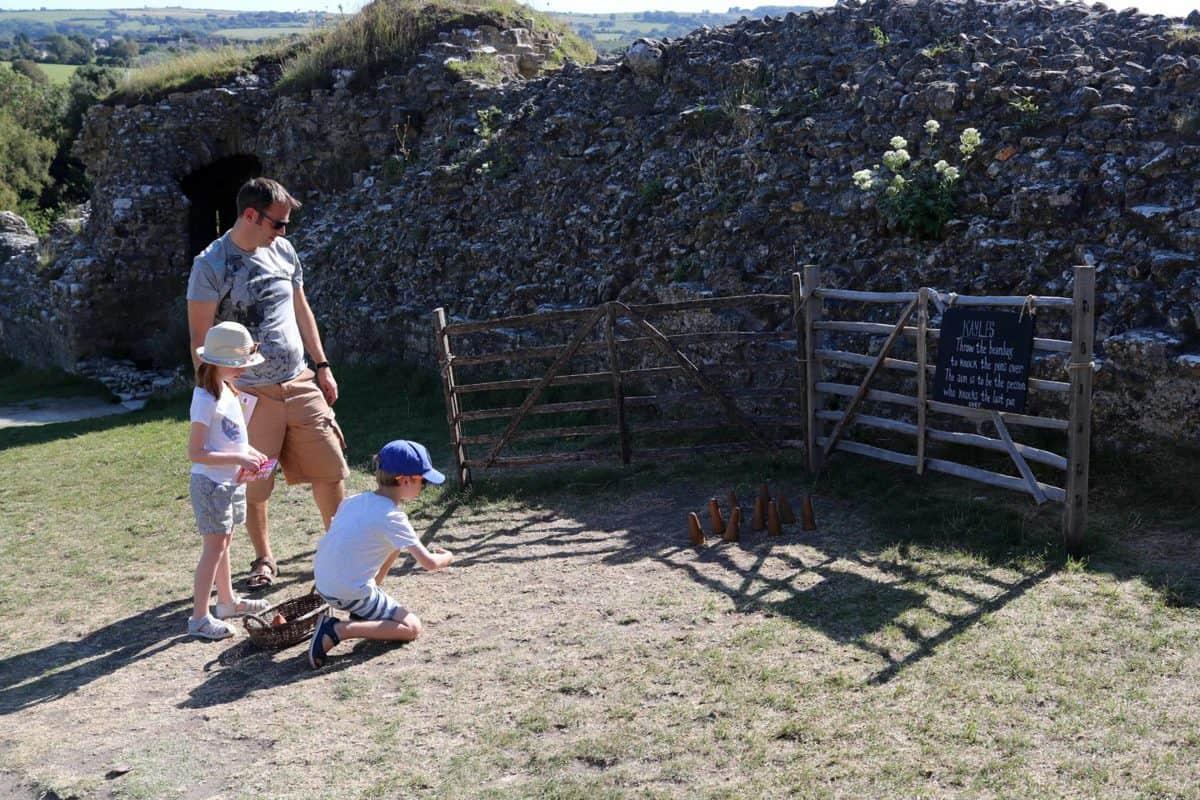 Visiting Corfe Castle, Dorset - National Trust game
