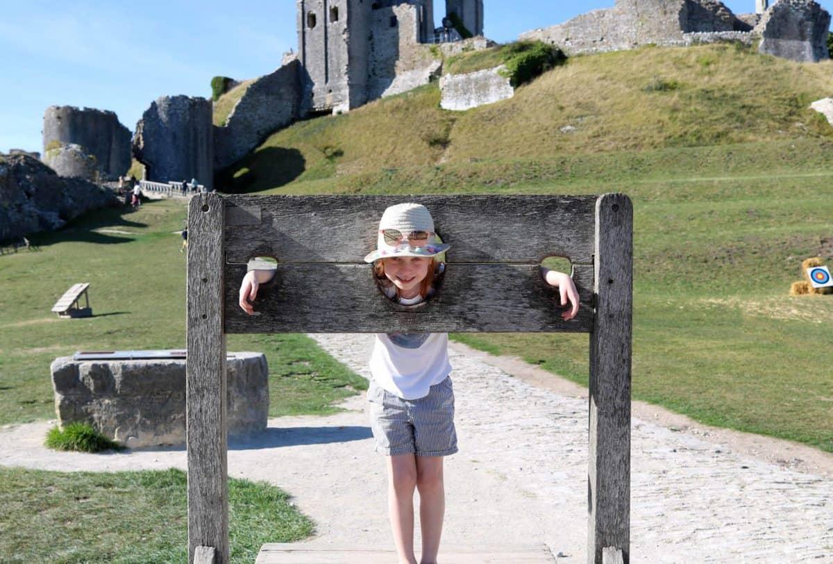 Visiting Corfe Castle, Dorset - National Trust stocks