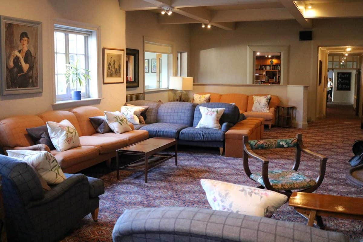 A Family Weekend at Knoll House Hotel Dorset - Lounge