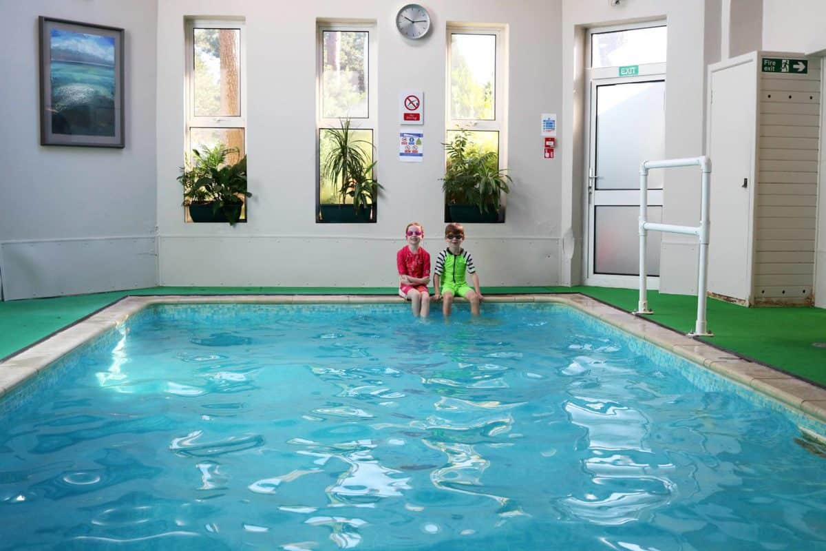 A Family Weekend at Knoll House Hotel Dorset - Indoor Pool