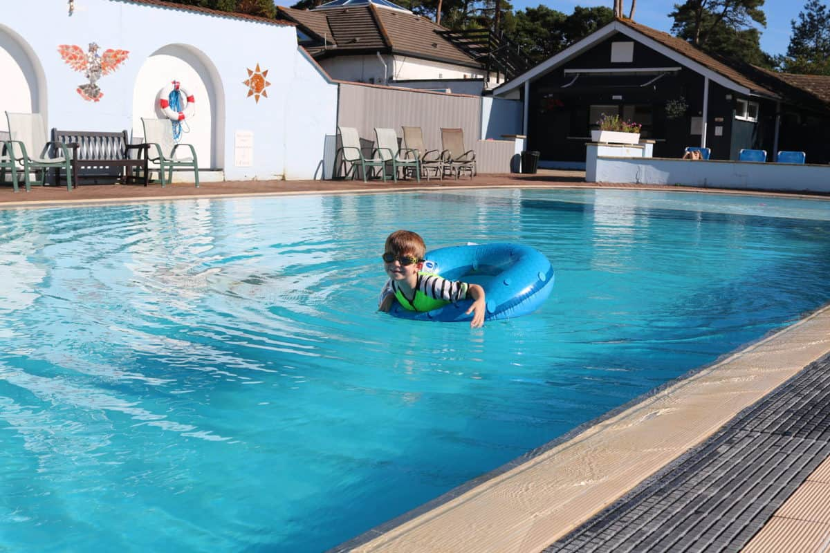 A Family Weekend at Knoll House Hotel Dorset - Outdoor Pool