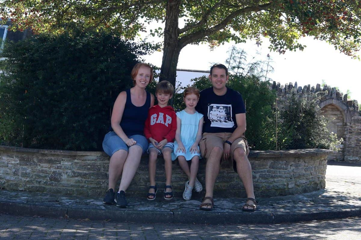 A Family Weekend at Knoll House Hotel Dorset - Family Photo