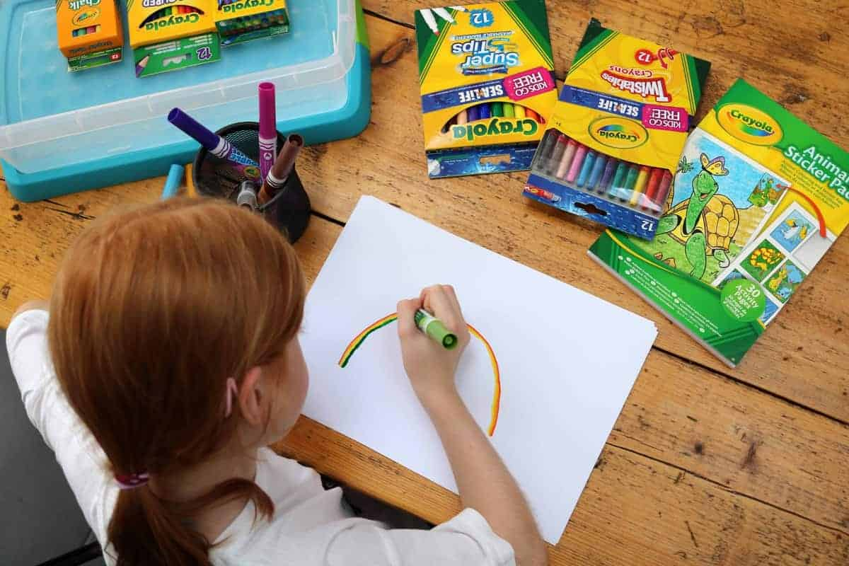 Ten Fun Things To Do After School - drawing
