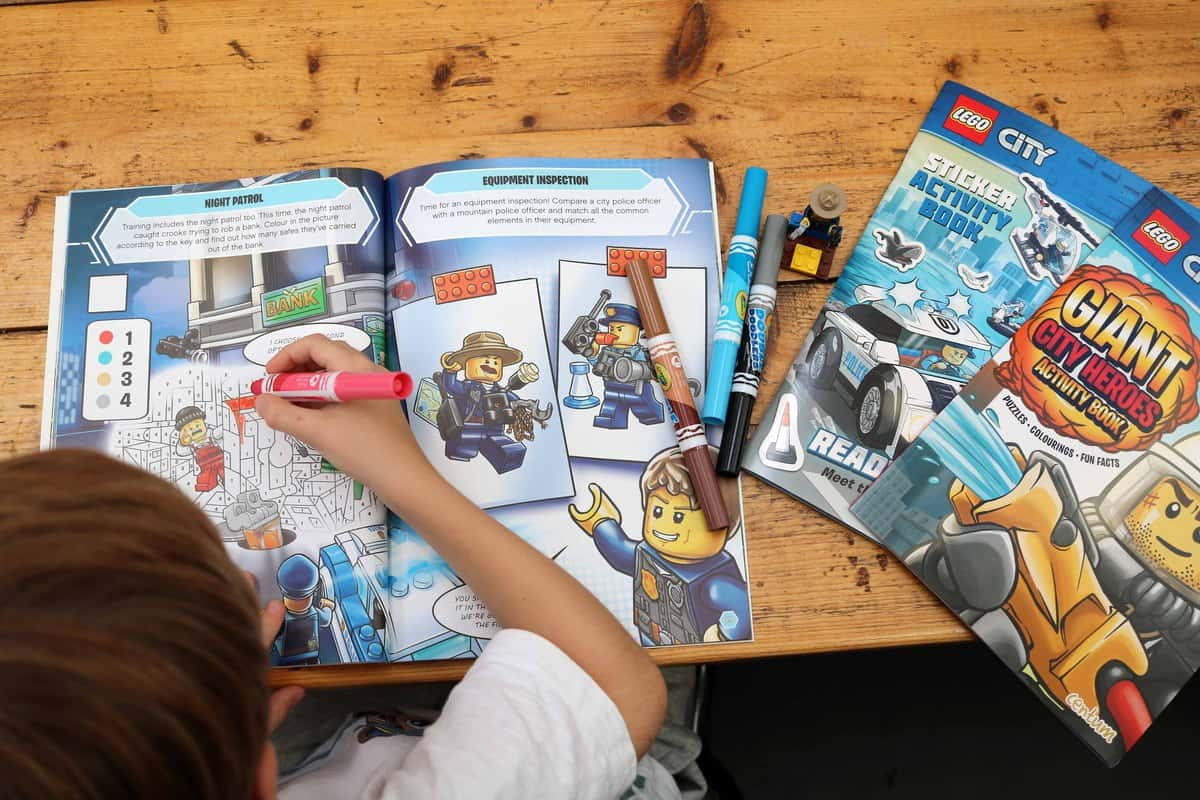 Ten Fun Things To Do After School - activity books