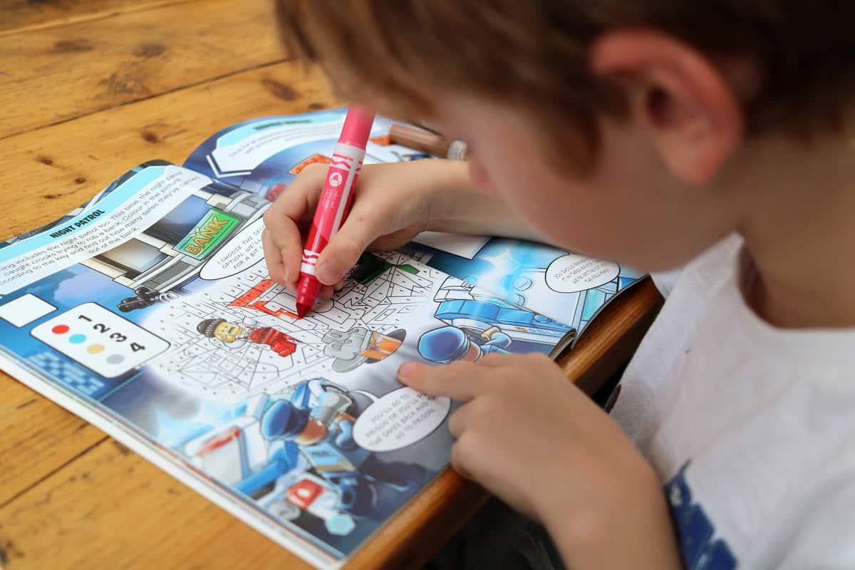Ten Fun Things To Do After School -activity books