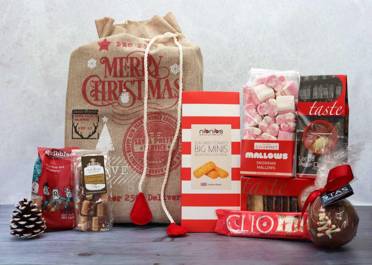 Santa's Surprise hamper from Spicers of Hythe