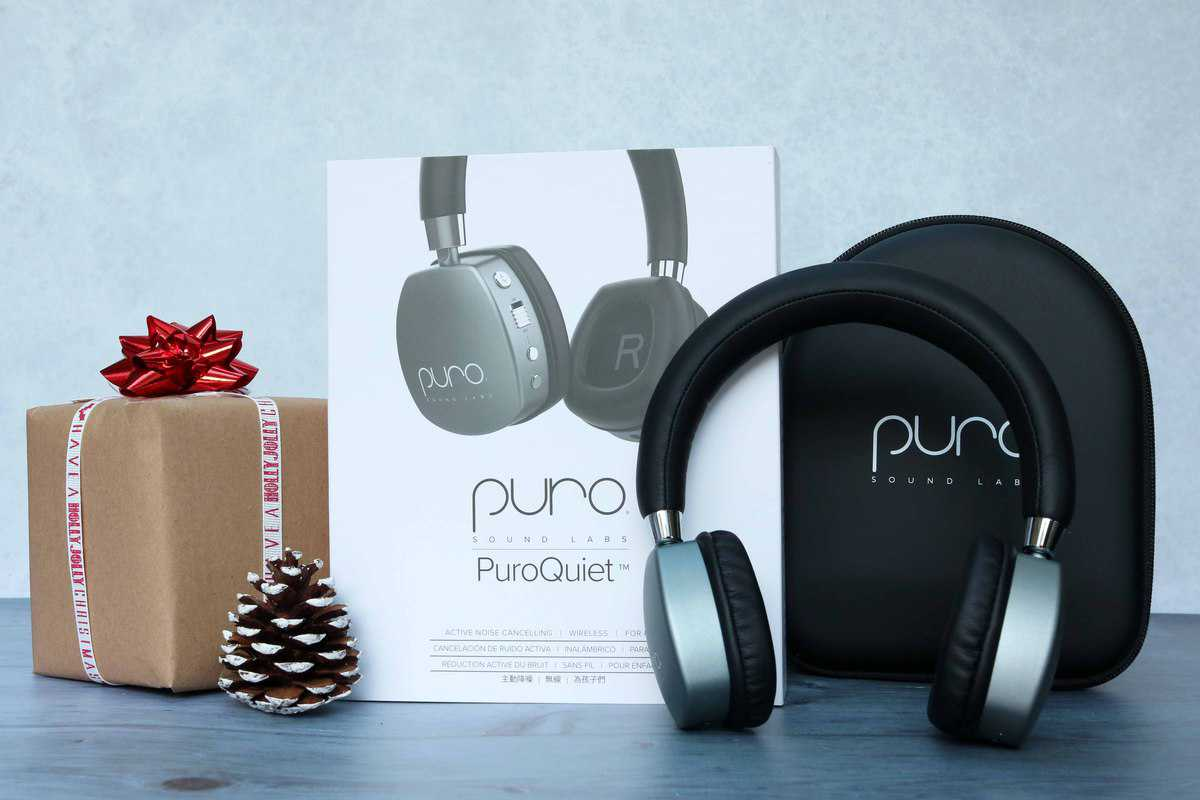 cordless PuroQuiet headphones from Puro Sound Labs