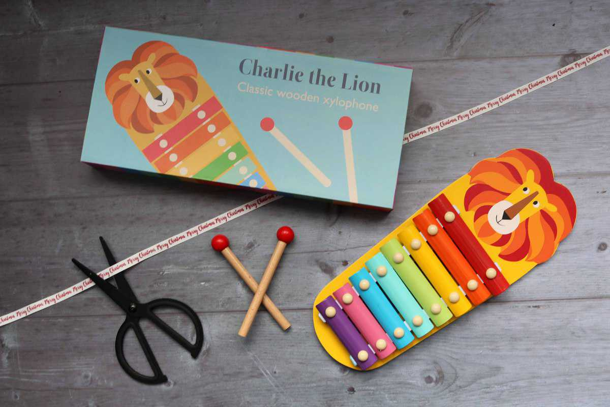 Rex London Charlie The Lion Xylophone