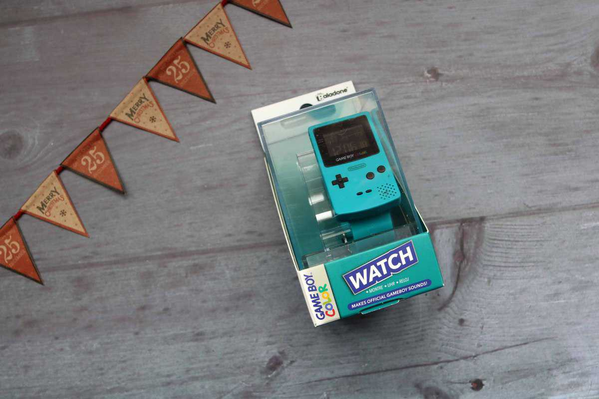 Game Boy Color Watch from Firebox